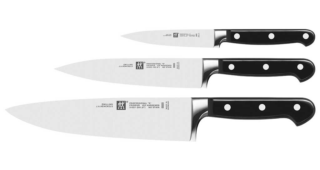 Coltelli da cucina professionali zwilling ecco i modelli - Set di coltelli da cucina ...
