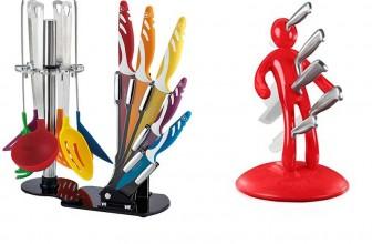 Ceppo coltelli di design | Per aggiungere un tocco di classe in cucina